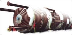 Half-Pipe Pressure Vessel G-77 with CS Half-Pipe