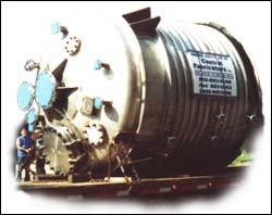 SS Half-Pipe Pressure Vessel (Reactor) H-59