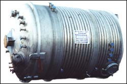 SS Half-Pipe Jacketed Pressure Vessel J-43