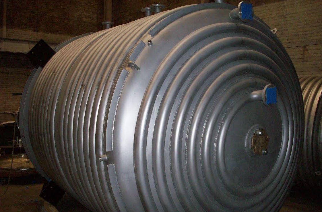 half-pipe reactors & tanks – central fabricators
