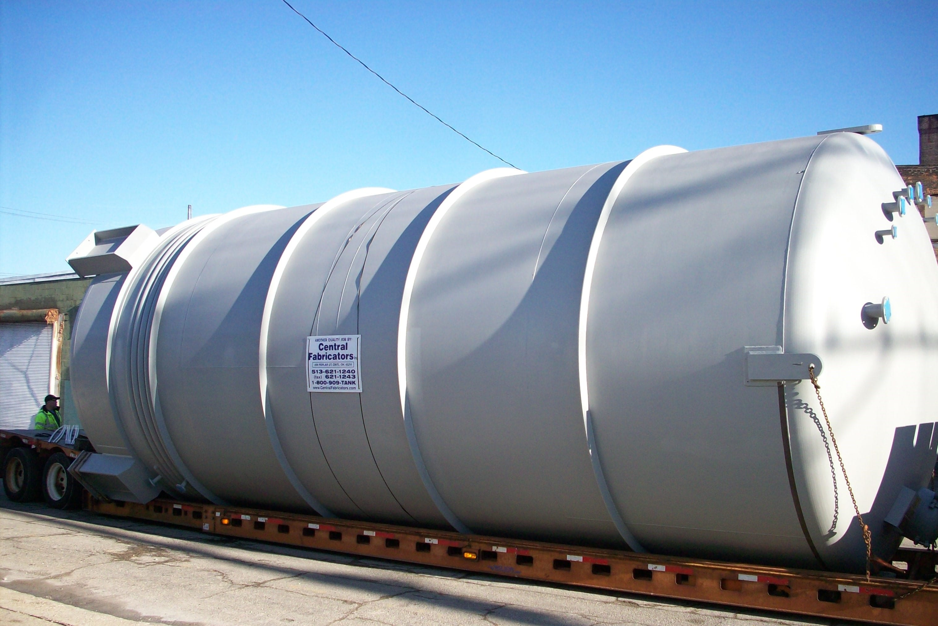 The Advantages of Utilizing Stainless-Steel Chemical Tanks